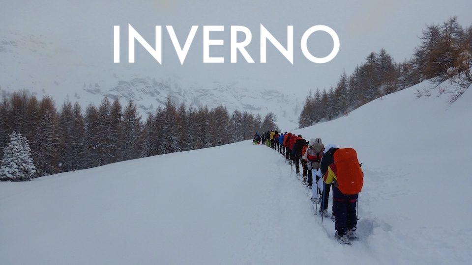 Inverno Alpsandtrekking
